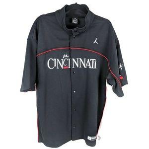 Nike Cincinnatti Bearcat Basketball Warm Up Jacket